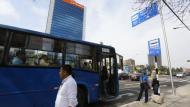 Desde el 25 de abril vuelven a circular buses azules en el Corredor Javier Prado. (Perú21)