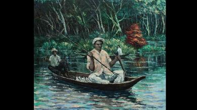 César Calvo de Araújo, un artista amazónico fascinante