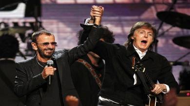 Ringo Starr entró como solista en el Salón de la Fama del Rock and Roll