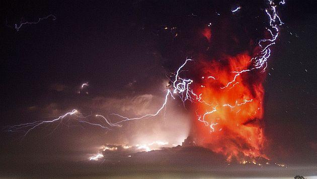 El Volcán Calbuco se encuentra a 900 km de Santiago de Chile. (AP)
