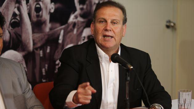 Alberto Tejada rechazó denuncias en su contra sobre presunto racismo. (Perú21)