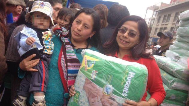 Ministerio de la mujer reinici distribuci n de pa ales en for Municipalidad de tarma