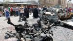 Estado Islámico dejó más de 20 muertos por ataque con coches bomba en Irak