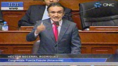 Héctor Becerril, Pedro Cateriano