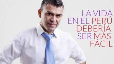 Julio Guzmán: 86% de peruanos no conoce al autodenominado candidato 'outsider'