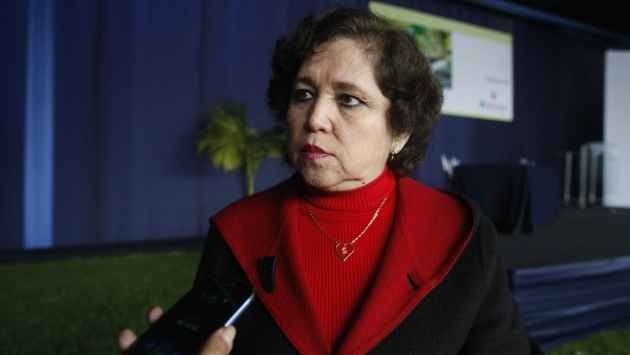 Sonia Medina destacó presencia de Dirandro en puertos y aeropuertos. (Mario Zapata)