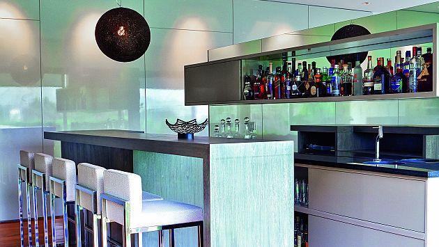 Bar en casa una gran opci n para celebrar en el hogar for Bares modernos para casas