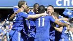 Chelsea se coronó campeón de la Premier League después de 5 años