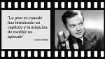 Orson Welles: Las 13 frases del director que revolucionó Hollywood