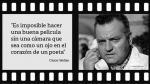 Orson Welles: Las 13 frases del director que revolucionó Hollywood - Noticias de hueca