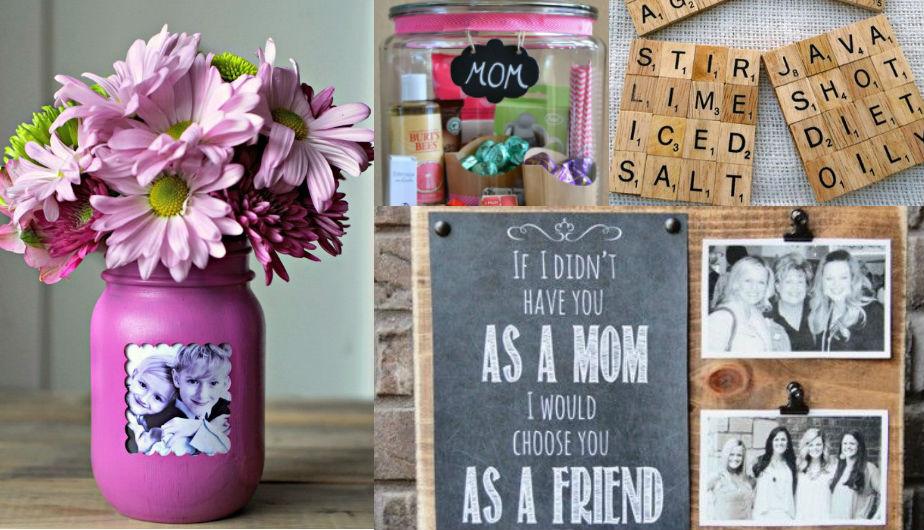 Día de la Madre 10 regalos creativos que puedes fabricar en casa