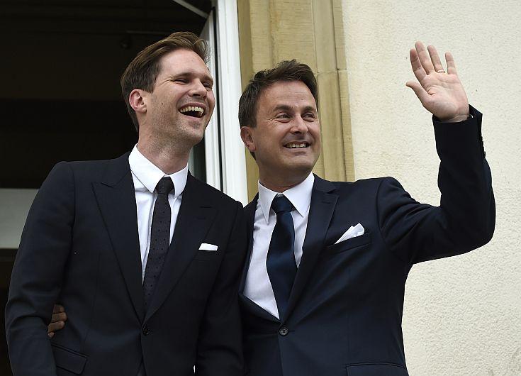 Luxemburgo: Primer ministro contrajo matrimonio con su novio belga