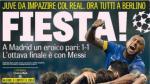 Real Madrid vs. Juventus: Prensa italiana de fiesta por clasificación de la 'Vieja Señora' - Noticias de amanecer