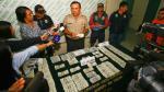 Policía capturó a mujer que iba a enviar US$165,000 falsos a Estados Unidos - Noticias de billetes de 100 dólares