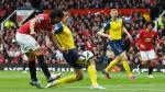Manchester United y Arsenal empataron 1-1 por la Premier League - Noticias de victor valdes