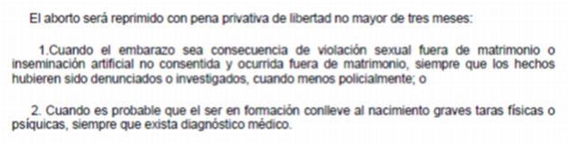 Despenalizaci n del aborto por violaci n una causa perdida pol tica peru21 - Aborto de 3 meses ...
