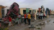 DESTRUCCIÓN. Alertan sobre la posibilidad de más tornados en la región norte de México. (Reuters)