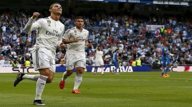 Real Madrid ganó 7-3 al Getafe y Cristiano Ronaldo es el 'Pichichi'