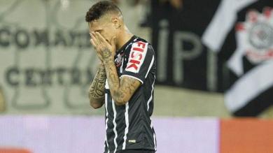 Paolo Guerrero se falló un gol con el Corinthians a lo 'Zorrito' Aguirre