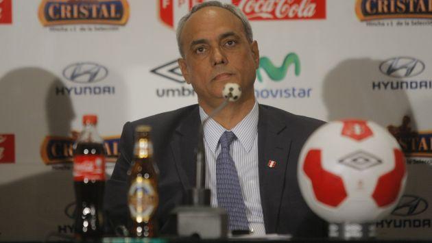 Manuel Burga estaría implicado en los escándalos de corrupción de la FIFA. (Perú21)