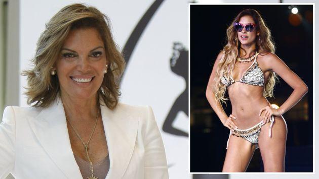"Jessica Newton aseguró que Mieltt Figueroa ""tiene condiciones para ser Miss Perú"". (USI)"