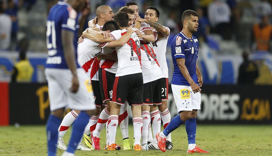 River Plate goleó 3-0 a Cruzeiro y ya está en semifinales de la Libertadores