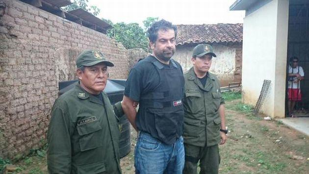 Martín Belaunde Lossio fue capturado cerca de la frontera de Bolivia con Brasil. (Foto: Ministerio del Gobierno de Bolivia)