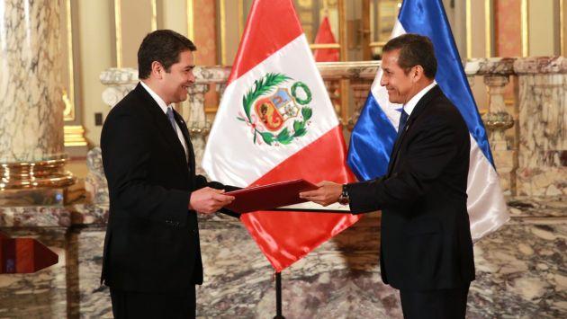 Per Y Honduras Firmaron Un Tratado De Libre Comercio Tlc