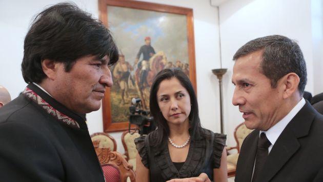 Gobierno de Evo Morales respondió a las expresiones de Nadine Heredia. (AP)