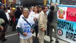 'Marcha por la paz' causa caos en el Centro de Lima [Fotos]
