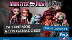 Monster High Embrujadas: Ya tenemos a los ganadores de la promoción - Noticias de marlene ramos