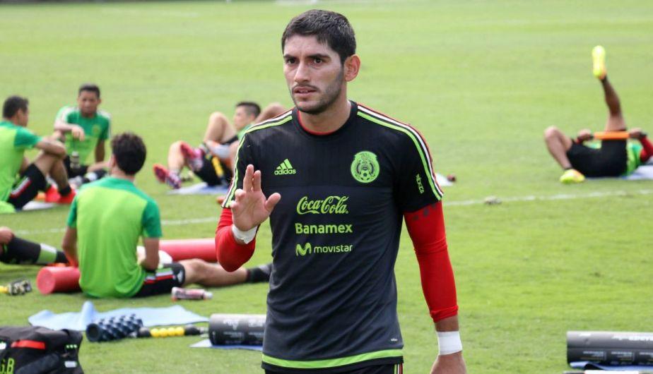México entrenó en Lima con miras al amistoso con Perú el miércoles 3 de junio. (Facebook Universidad San Martín)