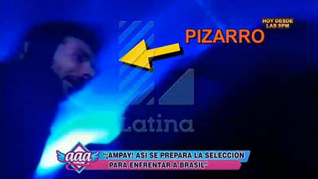 Selección peruana: FPF no descarta sanción para Claudio Pizarro y otros 2 jugadores por ampay. (Captura de TV)