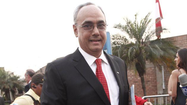 Manuel Burga reiteró que no ha recibido dinero ilícito. (USI)