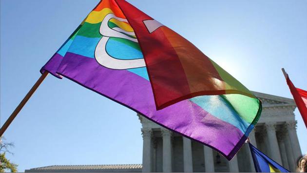 Desfile del orgullo gay de la cabeza de Harris