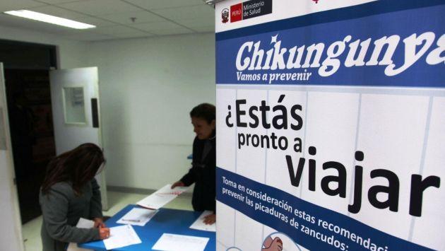 Un menor registró el primer caso de fiebre chikungunya en el Perú. (Andina)