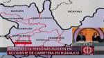 Huánuco: Al menos 15 escolares y un profesor murieron por caída de un volquete - Noticias de accidente muerto