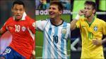Copa América 2015: El once ideal según cantidad de seguidores en Facebook - Noticias de bartolom�� herrera