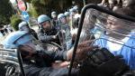Italia: Dispersaron a 200 inmigrantes que llevaban 2 días en la frontera con Francia [Fotos] - Noticias de comisión por flujo