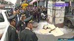La Victoria: Video capta momento en que cambista es calcinado en la vía pública - Noticias de cambistas