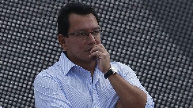 Moreno implicado en presuntas irregularidades en la obra de conformación de domos y sembrado de grass en la avenida Néstor Gambetta. (USI)
