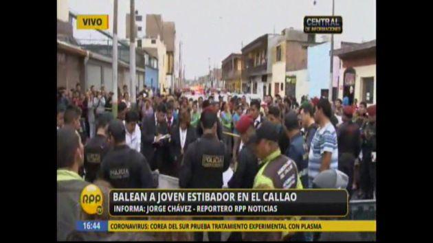 Estibador fue asesinado en el Callao a pocas cuadras de su hogar. (RPP TV)