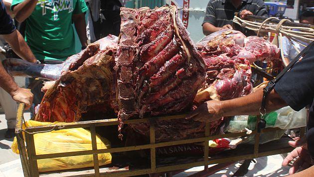 Carne provenía de la zona límite con Vietnam. (Referencial/USI)