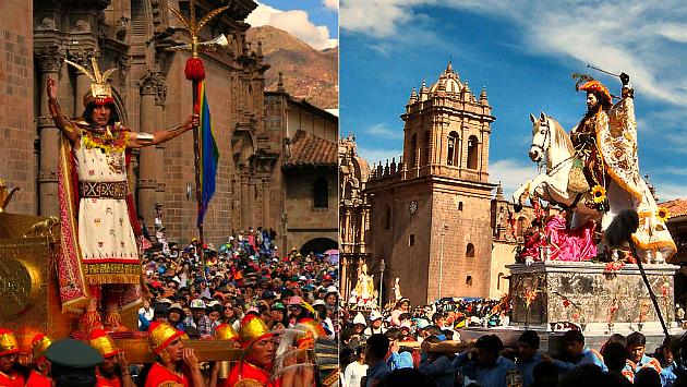 El Inti Raymi y el Corpus Christi representan la mezcla de tradiciones en el Cusco. (USI)