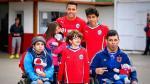 Chile: Alexis Sánchez regaló alegría a niños especiales - Noticias de carita feliz