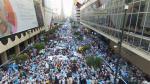 Ecuador: Masiva protesta contra Rafael Correa por proyectos para elevar impuestos - Noticias de jaime nebot