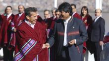 Evo Morales, Ollanta Humala