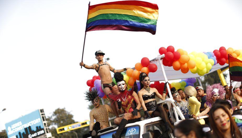 #YoMarcho: Así se vivió la marcha del Orgullo Gay en Lima [Fotos y videos]