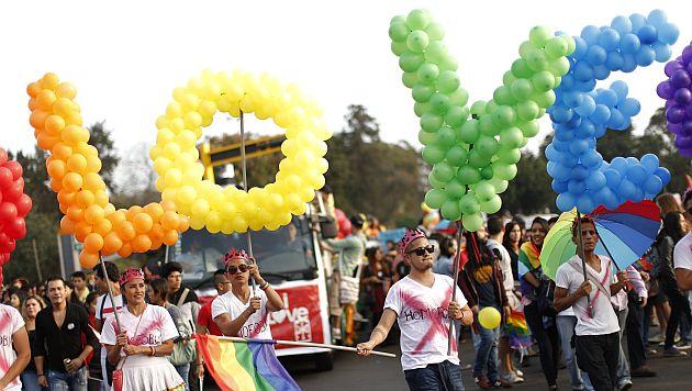 Marcha por el Orgullo Gay congregó a miles. (Luis Gonzales)