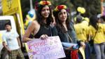 #YoMarcho: Así se vivió la marcha del Orgullo Gay en Lima en 2015 [Fotos y videos] - Noticias de oscar ugarte